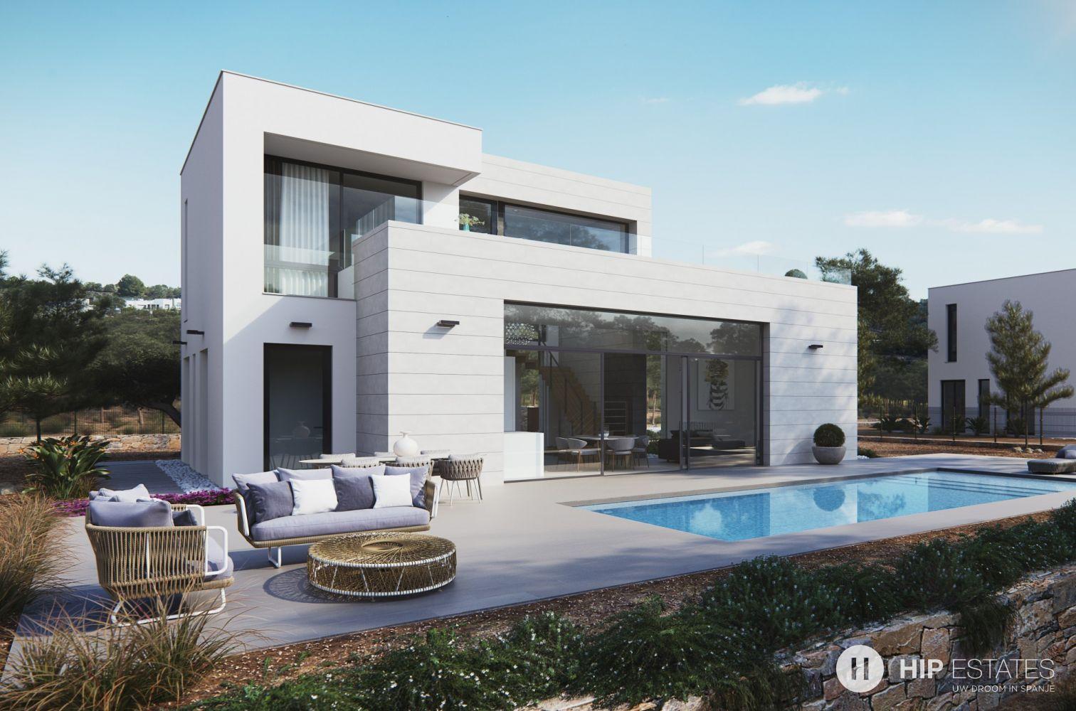 Vrijstaande moderne villa spanje hip estates